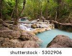 jungle waterfalls   Shutterstock . vector #5302906