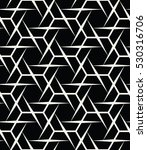 abstract geometry black and... | Shutterstock .eps vector #530316706