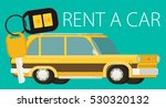 rent a car design  vector... | Shutterstock .eps vector #530320132