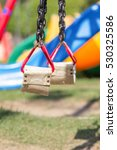swings and colorful playground... | Shutterstock . vector #530325586
