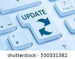 computer software update... | Shutterstock . vector #530331382