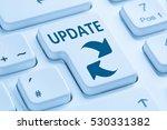 computer software update... | Shutterstock . vector #530331382