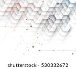 abstract hexagon background.... | Shutterstock .eps vector #530332672