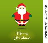 christmas card template vector... | Shutterstock .eps vector #530344735