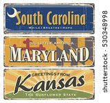 Us.vintage Tin Sign Collection...