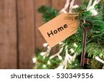christmas wishes concept   key... | Shutterstock . vector #530349556