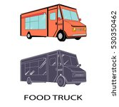 vector food truck | Shutterstock .eps vector #530350462