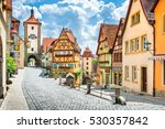 beautiful postcard view of the... | Shutterstock . vector #530357842