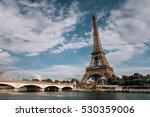 eiffel tower. paris. france.... | Shutterstock . vector #530359006