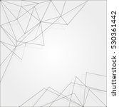 abstract gray strict background ... | Shutterstock .eps vector #530361442