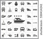 transportation icon vector...   Shutterstock .eps vector #530414242