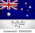 happy australia day 26 january... | Shutterstock .eps vector #530430256