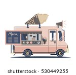 vector van illustration. retro... | Shutterstock .eps vector #530449255
