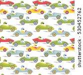 vector race retro sport car...   Shutterstock .eps vector #530452762