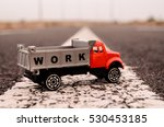model of the truck on an...