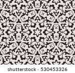 vintage abstract floral... | Shutterstock .eps vector #530453326