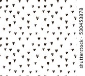 vector doodle pattern with... | Shutterstock .eps vector #530453878