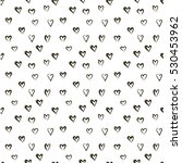 vector doodle pattern with... | Shutterstock .eps vector #530453962