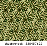 decorative floral seamless... | Shutterstock .eps vector #530457622