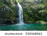 waterfall of the veil of the... | Shutterstock . vector #530468062