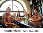 people  leisure  friendship and ... | Shutterstock . vector #530469802