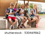 primary education  friendship ... | Shutterstock . vector #530469862