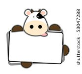adorable,animal,background,black,blank,bovine,brown,cartoon,cattle,character,clipart,comic,copy,cow,crazy
