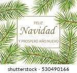 feliz navidad y feliz ano nuevo ... | Shutterstock . vector #530490166