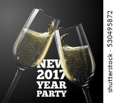 vector new year banner with...   Shutterstock .eps vector #530495872