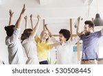 business  triumph  gesture ...   Shutterstock . vector #530508445