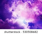 space of night sky with cloud... | Shutterstock . vector #530508682