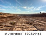 Large Excavation Site With...