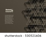 abstract background with... | Shutterstock .eps vector #530521606