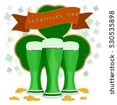 vector on theme big colored set ... | Shutterstock .eps vector #530535898