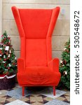 new year red chair