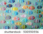 aquarium fish   colorful... | Shutterstock . vector #530550556