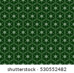 abstract geometry floral... | Shutterstock . vector #530552482