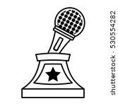 music trophy awards outline...