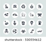 ecology icons | Shutterstock .eps vector #530554612