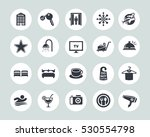 hotel icons   Shutterstock .eps vector #530554798
