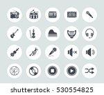 music icons | Shutterstock .eps vector #530554825