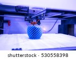 three dimensional printing... | Shutterstock . vector #530558398