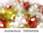colorful lights bokeh... | Shutterstock . vector #530564206