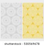 set of seamless texture of... | Shutterstock .eps vector #530569678