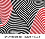 abstract wave overlay texture... | Shutterstock .eps vector #530574115