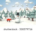 cartoon style low poly 3d... | Shutterstock . vector #530579716
