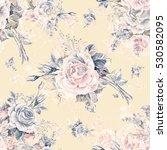 watercolor seamless pattern... | Shutterstock . vector #530582095