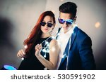couple having fun at the club.... | Shutterstock . vector #530591902