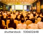 blurred  audience  in... | Shutterstock . vector #530602648