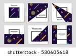 abstract vector layout... | Shutterstock .eps vector #530605618